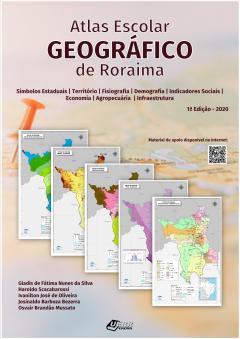 "Capa do livro ""Atlas Escolar Geográfico de Roraima"""