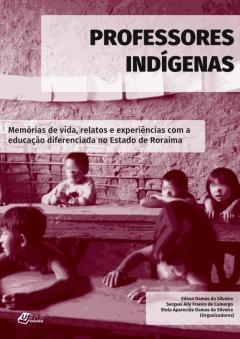 """Capa do livro """"Professores indígenas"""""""