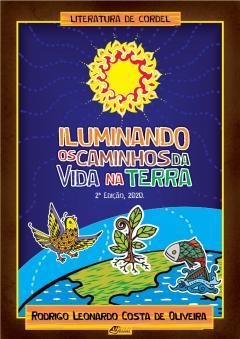 """Capa do livro """"Iluminando os caminhos da vida na terra"""""""