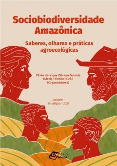 """Capa do livro """"Sociobiodiversidade amazônica"""""""