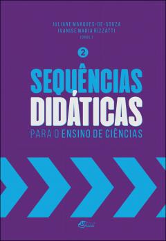 """Capa do livro """"Sequências didáticas para o ensino de ciências"""""""
