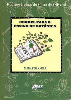 """Capa do livro """"Cordel Para o Ensino de Botânica - 1ª Edição"""""""